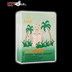 AMOR Condoms Wild Love 3 Pack