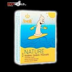 AMOR Condoms Nature 3 Pack