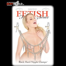 Fetish Fantasy Rock Hard Nipple Clamps