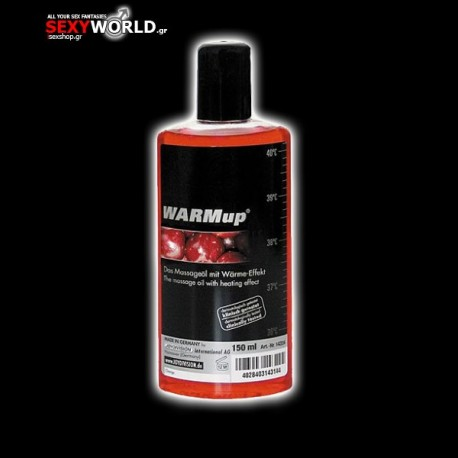 WARMup Massage Oil Cherry 150ml