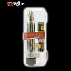 Slim Line Vibrator Silver