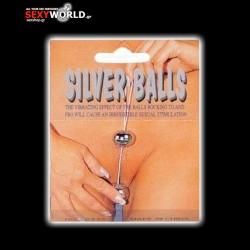 Twin Silver Vibro Balls