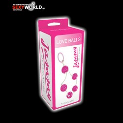 Jammy Jelly Anal 5 Beads Pink