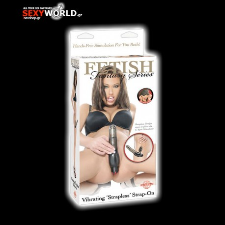 Fetish Fantasy VIbrating Strapless Strap On