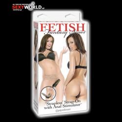 Fetish Fantasy Strapless Strap On & Anal Stimulator
