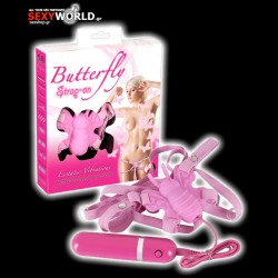 Butterfly Strap-on Pink