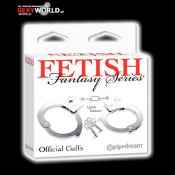 Fetish Fantasy Official Metal Cuffs