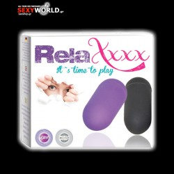 RelaXxxx Remote Control Vibrating Egg Purple