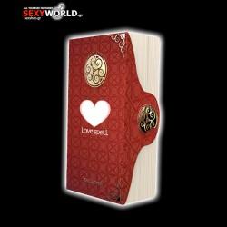 Δονητής με Κλειτοερεθισμό Magic Tales Love Spell Κόκκινος
