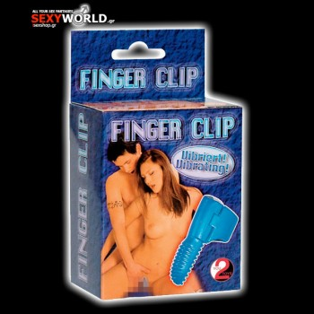 Vibrator Finger Clip