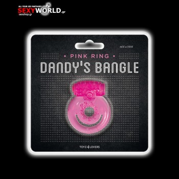 Dandy Bangle Double Vibrating Cockring