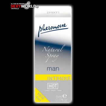 HOT Pheromone Natural Spray Man Intense 5ml