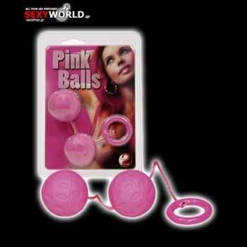 2 Orgasm Balls Pink