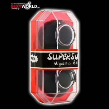 Supersoft Orgasmus Balls Black