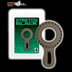 Stretch Black Cock Ring
