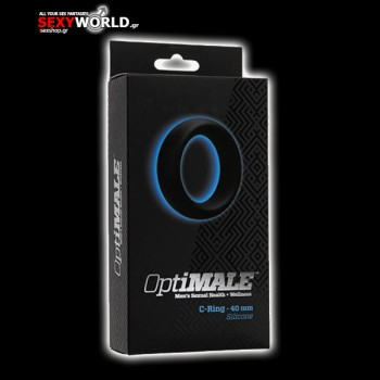 Optimale C-ring Thick Black 40 mm
