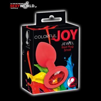 Red Joy Jewel Plug