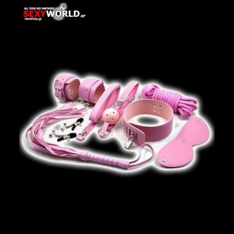 Top Bondage Kit Pink