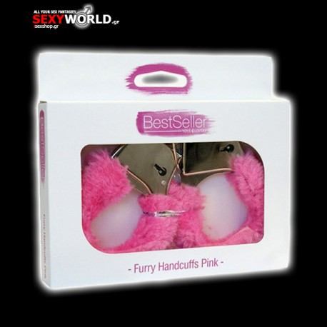Handcuffs with Pink Fur Bestseller
