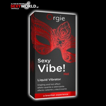 Gel Sexy Vibe Hot Liquid Vibrator 15 ml