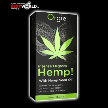 Gel Intense Orgasm Hemp 15 ml