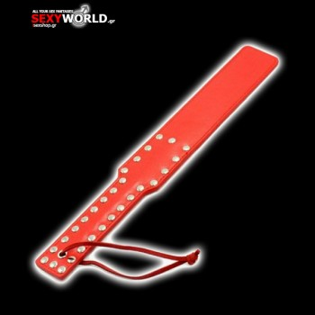 Spank Paddle Red