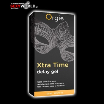 Orgie Xtra Time Delay Gel 15 ml