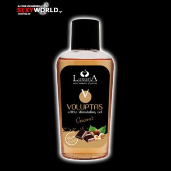 Voluptas Massage Oil Hazelnut and Chocolate