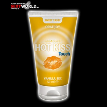Hot Kiss Touch Vanilla Gel 50ml