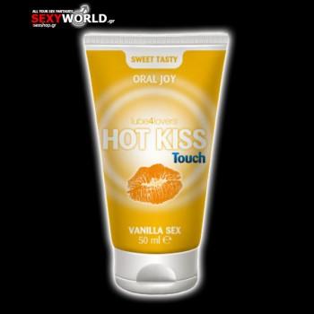 Hot Kiss Touch Vanilla Gel 50ml