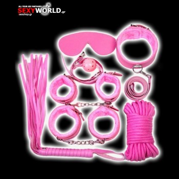 Fetish Bondage Kit Pink