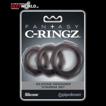 Fantasy C-RINGZ Silicone Stamina Set