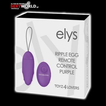 Elys – Ripple Egg Remote Control Purple