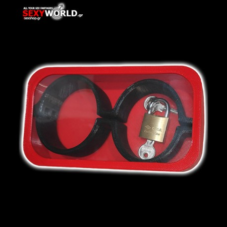 3D Handcuffs Black