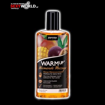WARMup Massage Oil Raspberry 100ml