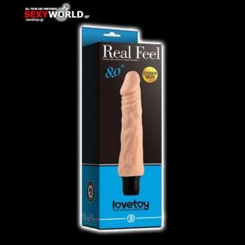 Real Feel Cyberskin Vibrator 8