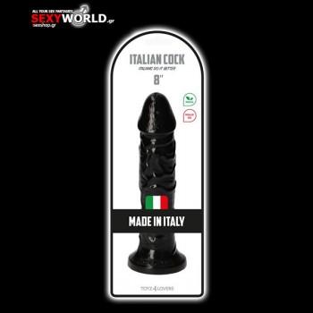 Italian Cock 8 Black