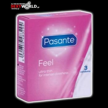 Pasante Feel Sensitive 3s pack