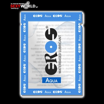 Eros Aqua Waterbased Lubricant 4ml