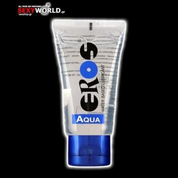 EROS Aqua Water Based Lubricant 50ml