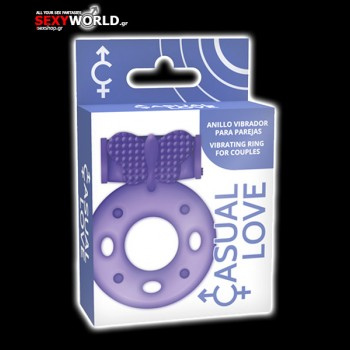 Casual Love Ring Purple