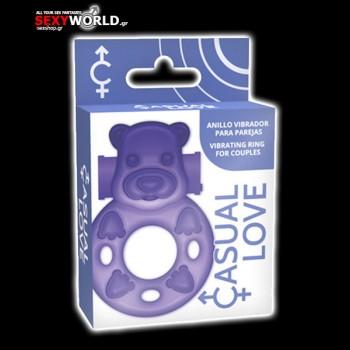 Casual Love Ring 26 Purple