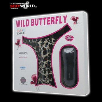 Wild Butterfly Vibrating Thong with Remote Control