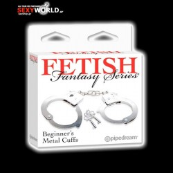 Fetish Fantasy Metal Cuffs