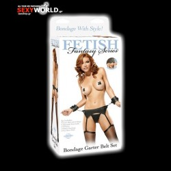 Fetish Fantasy Bondage Garter Belt Set