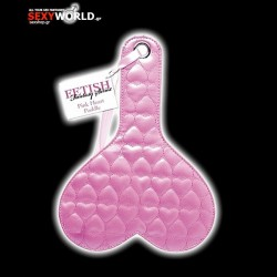 Fetish Fantasy Quilted Heart Paddle