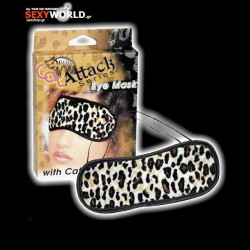 Eye Mask Leopard Velvet