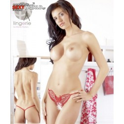 String Butterfly Red