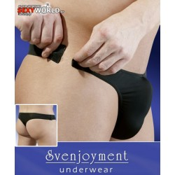 Thong with Velcro Closure Sideways