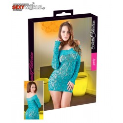Carmen Dress Turquoise